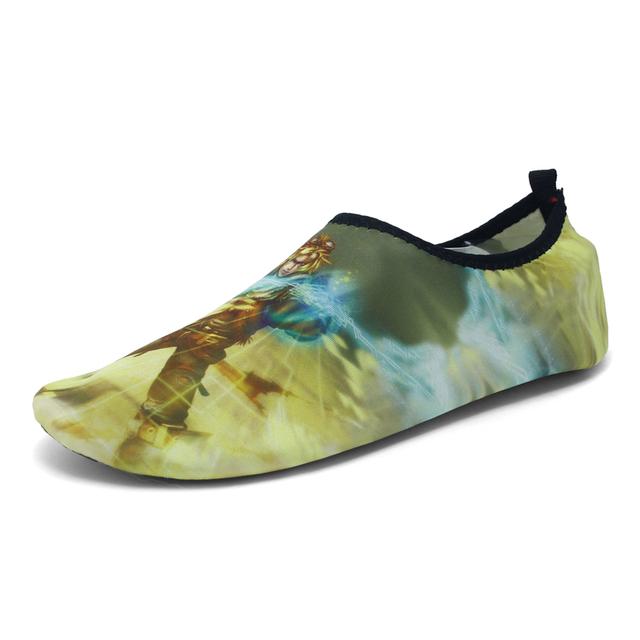 Мужчины пляжная обувь красочные сопротивление скольжению супер мягкий йога плавание ...