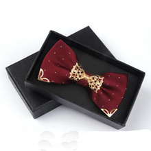 2015 High-grade Men Bow Tie For Groom Wedding Party Fashion Casual Men's Suit Bowknot Cravat For Business Bowtie Accessories(China (Mainland))