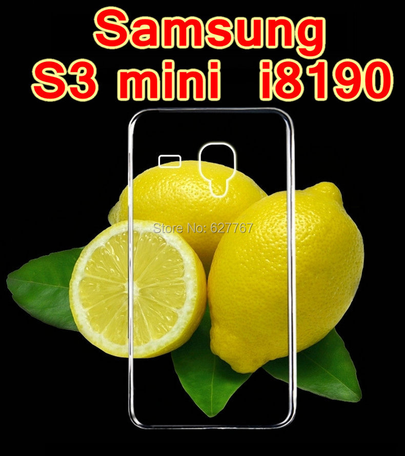 Hot for Samsung S3 mini i8190 Transparent Ruanjiao Case Crystal Clear Silicone Protective Cover Phone Cases S3 mini Skin Shell(China (Mainland))