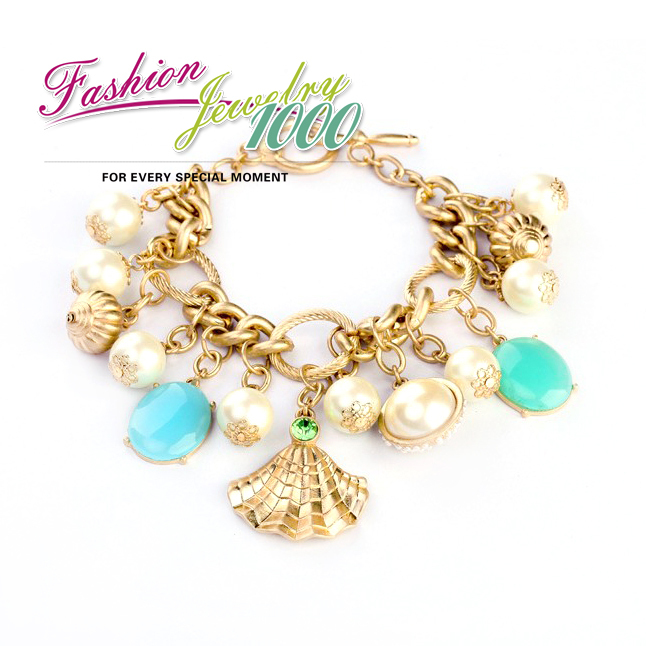 Buy wholesale new fashion colorful pearl for Costume jewelry for evening gowns