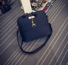 ZERO Profit – New Fashion Shell Women Messenger Bags Cross body Bag PU Leather Mini Female Shoulder Bag Free Shipping