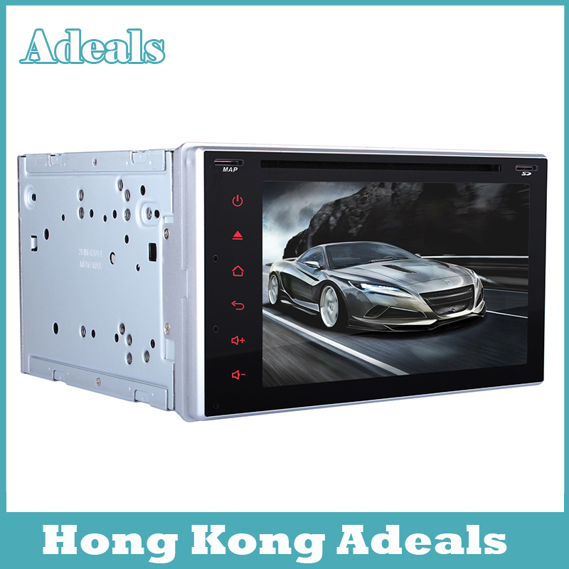 """GPS Navigation 2 Din Car DVD Player 6.2"""" Car GPS Radio DVD Player Android 4.4 Double DIN Stereo Bluetooth Digital Touch Screen(China (Mainland))"""