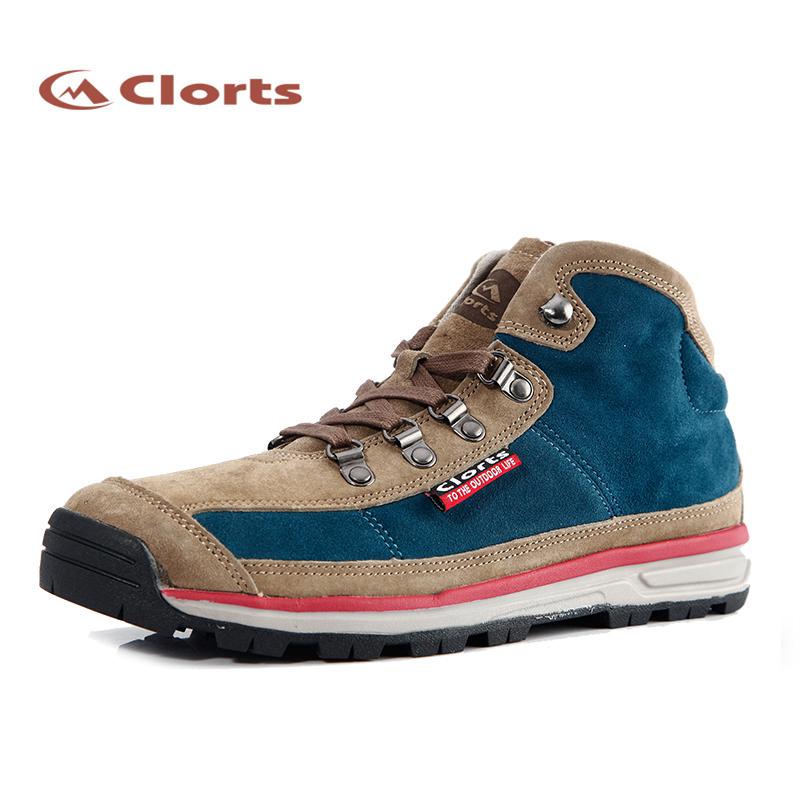 Фотография 2016 Clorts Free Shipping Outdoor Walking Shoes High Top Lightweight For Men 3G025A/B