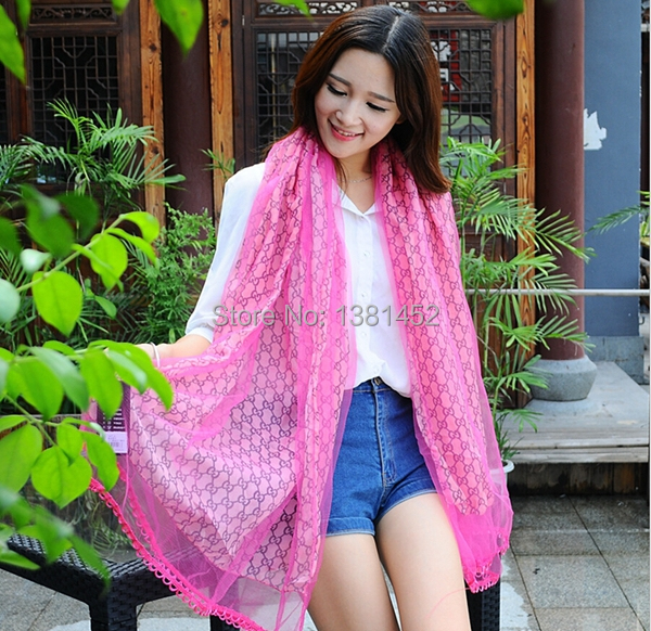 Winter upscale scarf double 100% silk twill scarf rosette chiffon shawl women winter scarfs 2014 shawls wholesale manufacturers(China (Mainland))