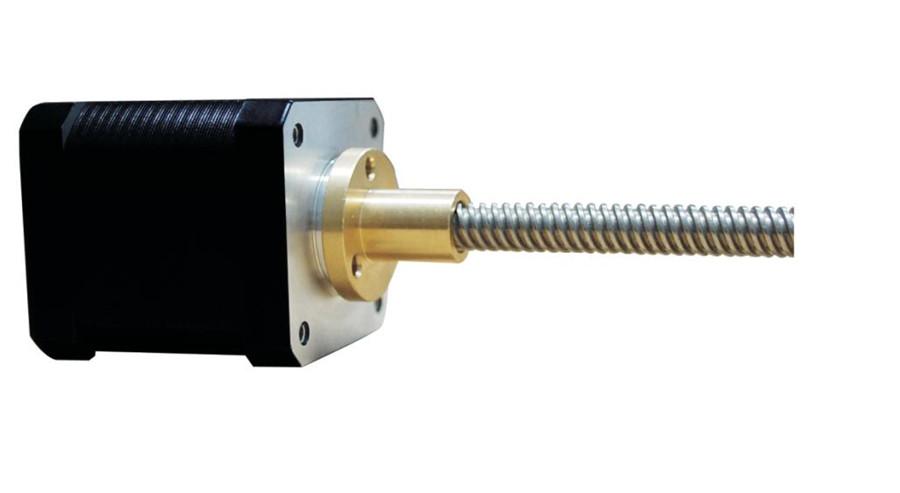 Buy 42 lead screw linear stepper motor 1 5a 40mm 300mm rod Stepper motor with lead screw