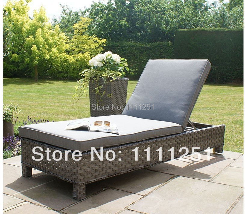 2014 antique outdoor furniture lounge rattan victoria sunlounger set