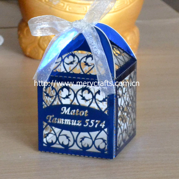 Royal blue wedding favours : Aliexpress buy royal blue wedding favors boxes laser