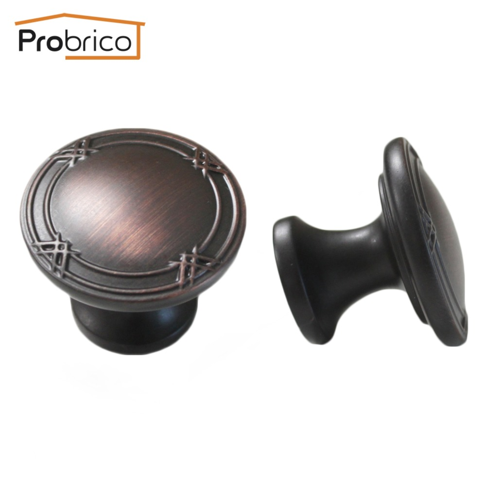 Probrico 20 pcs vintage furniture drawer knob ps82252orb for Furniture handles