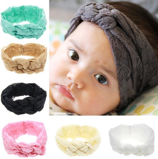 2016 new Baby Hair Accessories Baby headband Toddler Cute Hairband Turban Knot Rabbit Baby Girl Headbands Accesories(China (Mainland))