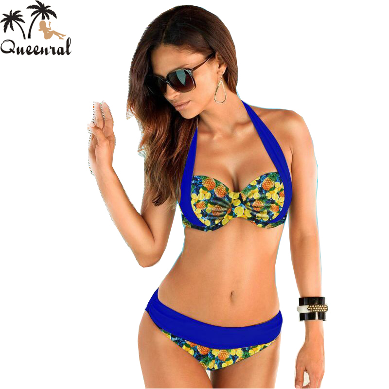 push up bikini swimsuit women bikini bathing suit swimsuit female high waist swimsuit swimming swimsuit solid plus size swimwear(China (Mainland))