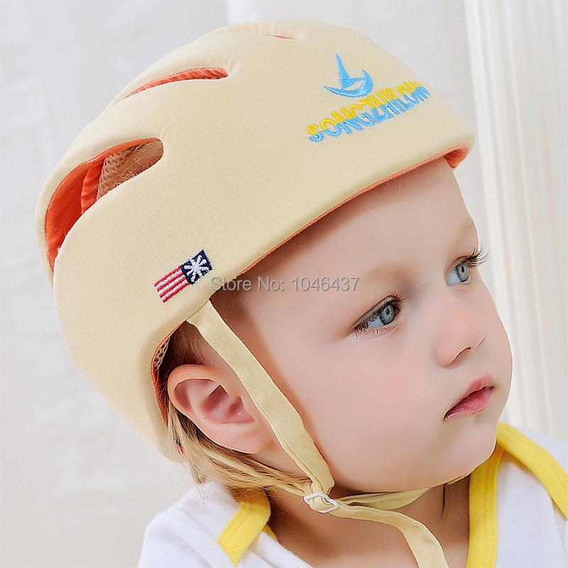 infant protective hat safety helmet for babies cotton baby summer bonnet baseball cap kids sun hats girls muts children boy caps(China (Mainland))