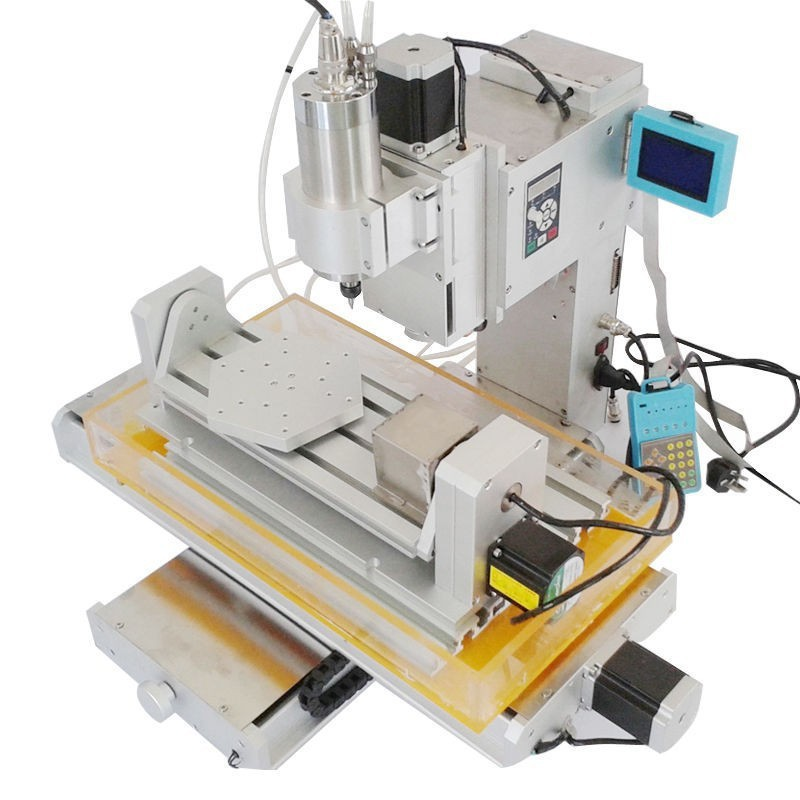 Free ship! New arrival 5 axis cnc wood carving machine,Table Column Type hobby cnc machines,Precision Ball Screw cnc router(China (Mainland))