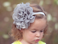 New 2015 Baby New Toddler Infant Flower Headband Hair Bow Band Accessory Photography(China (Mainland))