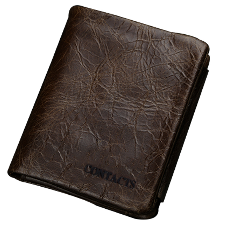 Genuine Leather 2015 Classical European and American Style Men Wallets Wallet Fashion Purse Card Holder Wallet Man GMW0001W(China (Mainland))