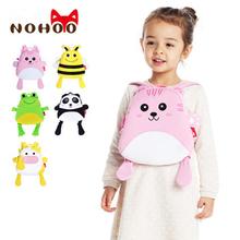 NOHOO Waterproof Animals School Backpacks Kids Baby 3D Printing Casual Bags for Girls Boys Kindergarten Children School Bags(China (Mainland))