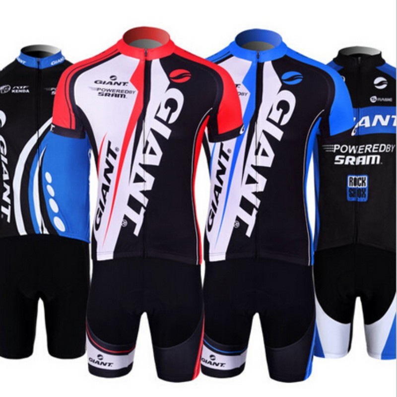 Giant Cycling Jersey Pro Team Short Sleeve Bicycle Clothing Bike Sportswear Cycling Clothing Unisex Breathable Quick Dry(China (Mainland))