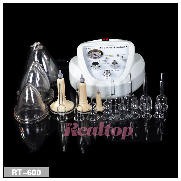 Vacuum Therapy Body Machine Massage Body Shaping Breast Enlarger Spa Equipment(China (Mainland))