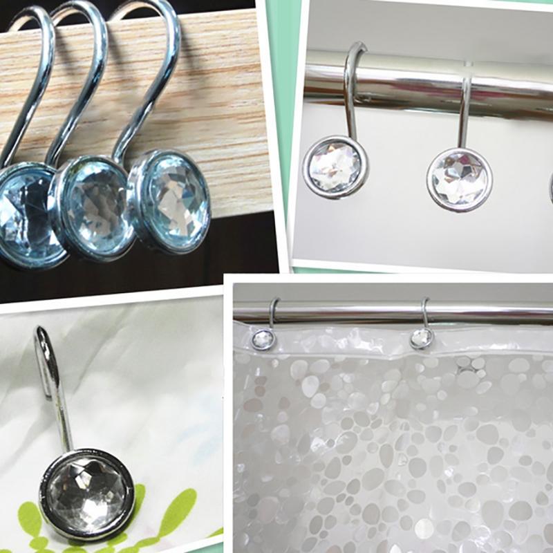get cheap metal shower curtain hooks aliexpress