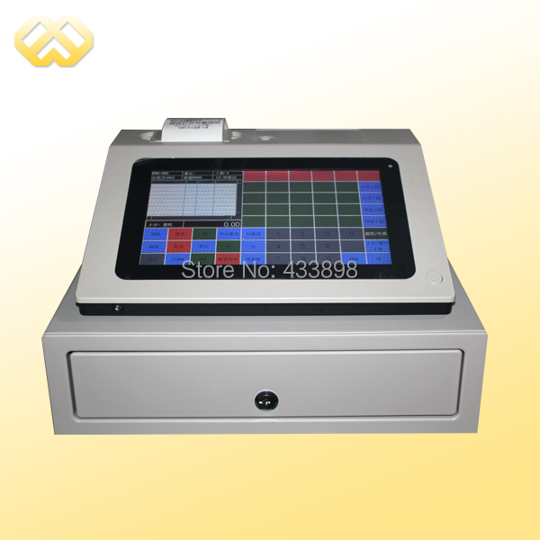 POS0901 9 Inch Capacitive All In One Touch POS Machine With Embedded POS Software(China (Mainland))