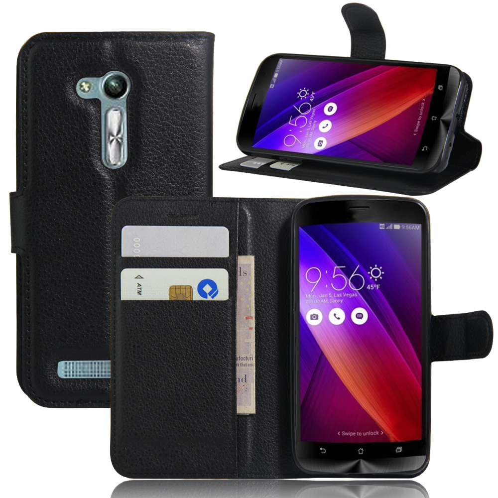 ZB452KG Case Fashion Wallet PU Leather Case For Asus Zenfone GO ZB452KG Magnetic Filp Cover Fundas Holder Stand Mobile Phone Bag(China (Mainland))