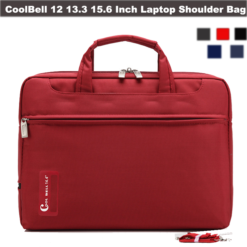 CoolBell 10.1 12 13.3 14 15.6 Inch Unisex Computer Laptop Shoulder Bag Messenger Hand Bag Briefcase For iPad Pro/Macbook/Surface(China (Mainland))