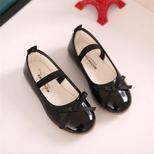 2016 Fashion Chilren Girls Shoes Spring Autumn Casual Flats Shoes for Girls Princess Ballet Flats Shoes for Party Wedding(China (Mainland))