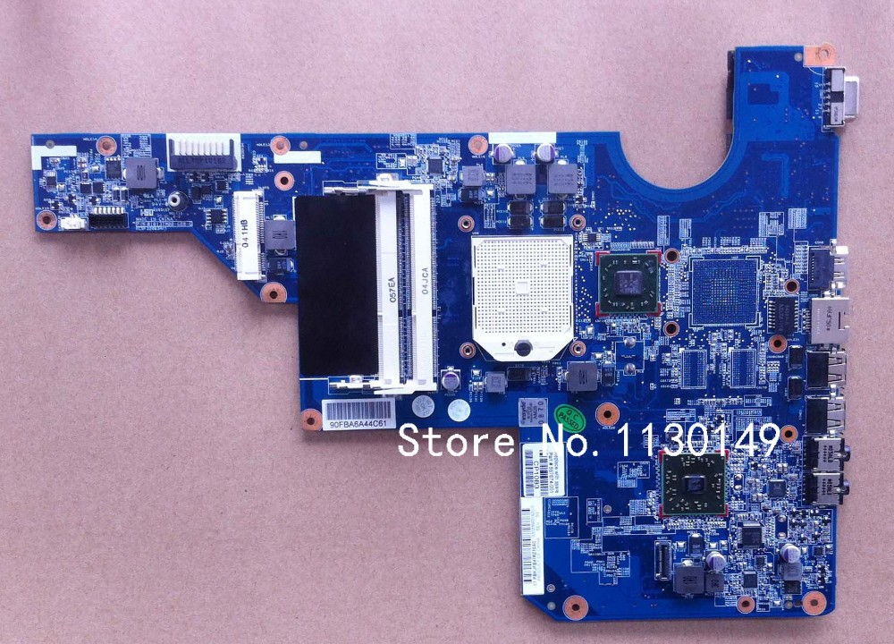 For HP CQ62/G62 DDR3 laptop motherboard 597674-001,100%Tested and guaranteed in good working condition!!(China (Mainland))
