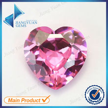 Buy 50Pcs Heart Shape 5A Pink Color Cubic Zirconia Stone Size 3x3-10x10mm Synthetic Gems Beads Crystal Stone Jewelry for $5.61 in AliExpress store