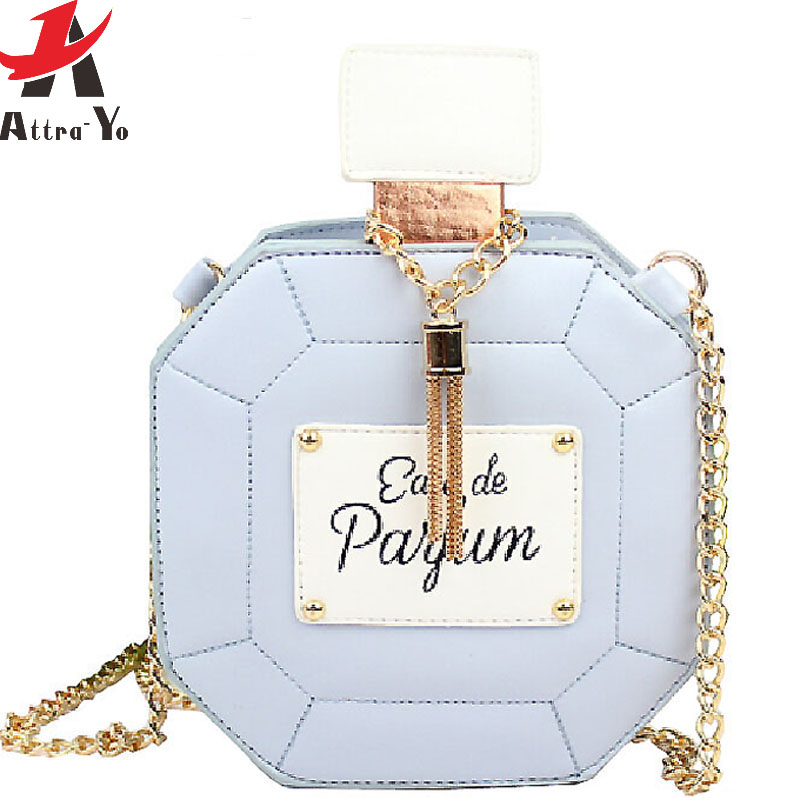 Attra-Yo! 2016 brand women handbag clutch chain bags perfume bottle women messenger bags party purse evening bag pouch LS4386(China (Mainland))