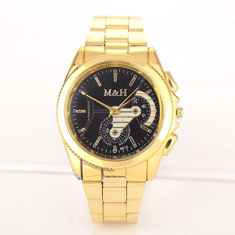 relogios masculinos Top Luxury Brand Full Stainless Steel Analog Mens Quartz Watch Business Watch Men Wristwatch<br><br>Aliexpress