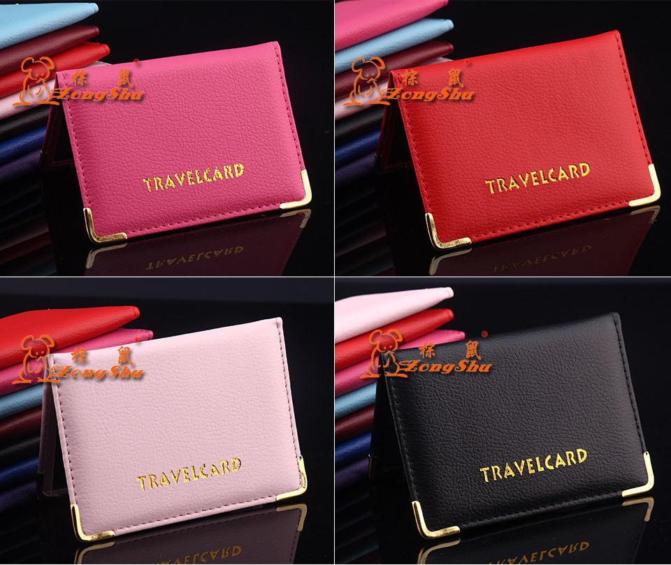 8 colors students ID card Holder Business Card case Women PU Leather certificate Cover ID Credit Card Wallet free shipping(China (Mainland))