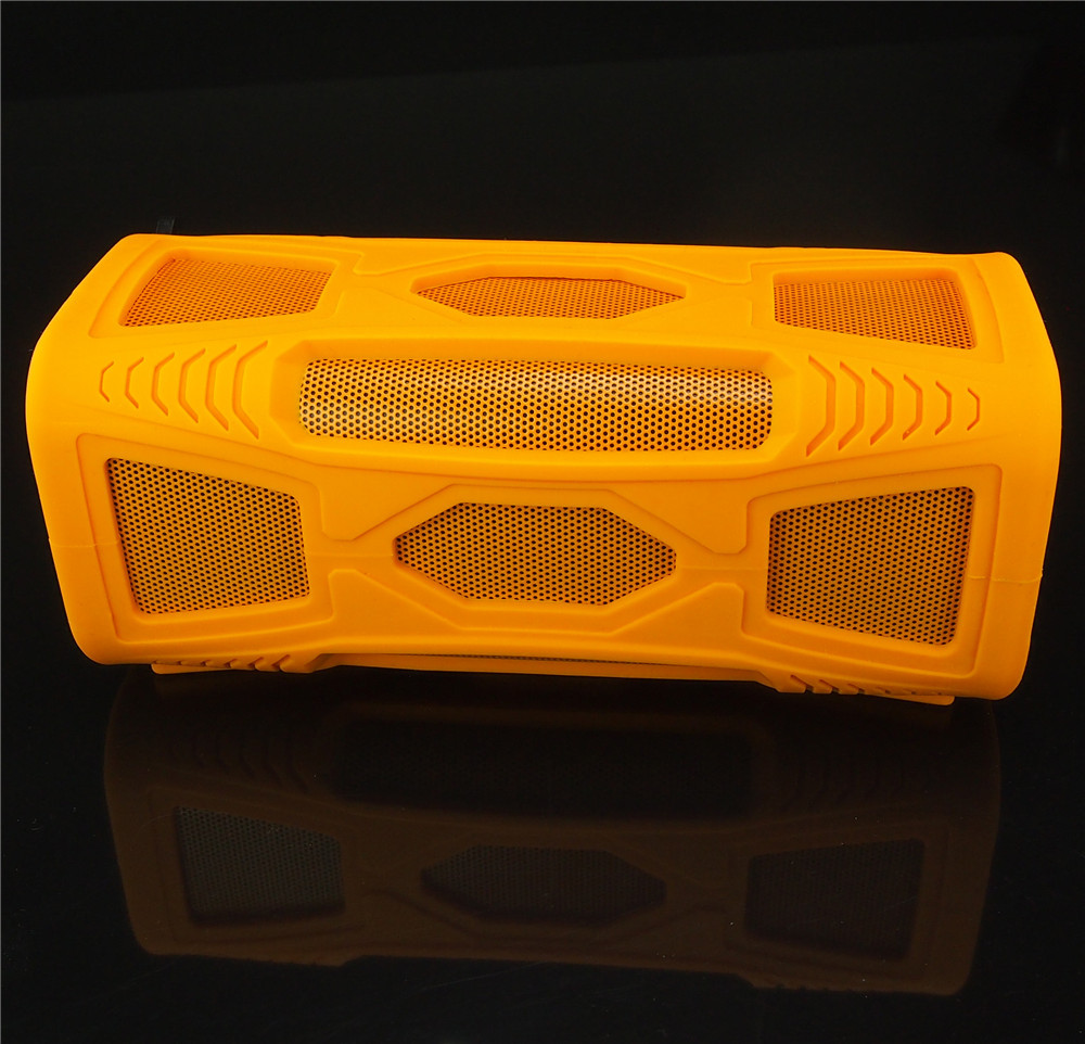 2015 New waterproof portable outdoor 10W BT4.0 super bass HI-FI wooden box Bluetooth speaker