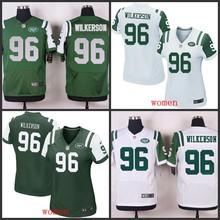 2016 wholesale free shipping 100% Elite men women kid youth New York Jets 96 Muhammad Wilkerson(China (Mainland))