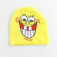 Limited sales Cartoon Character Styles Kids Winter Skullies & Beanies Accessories Children Hero and Hats & Caps(China (Mainland))