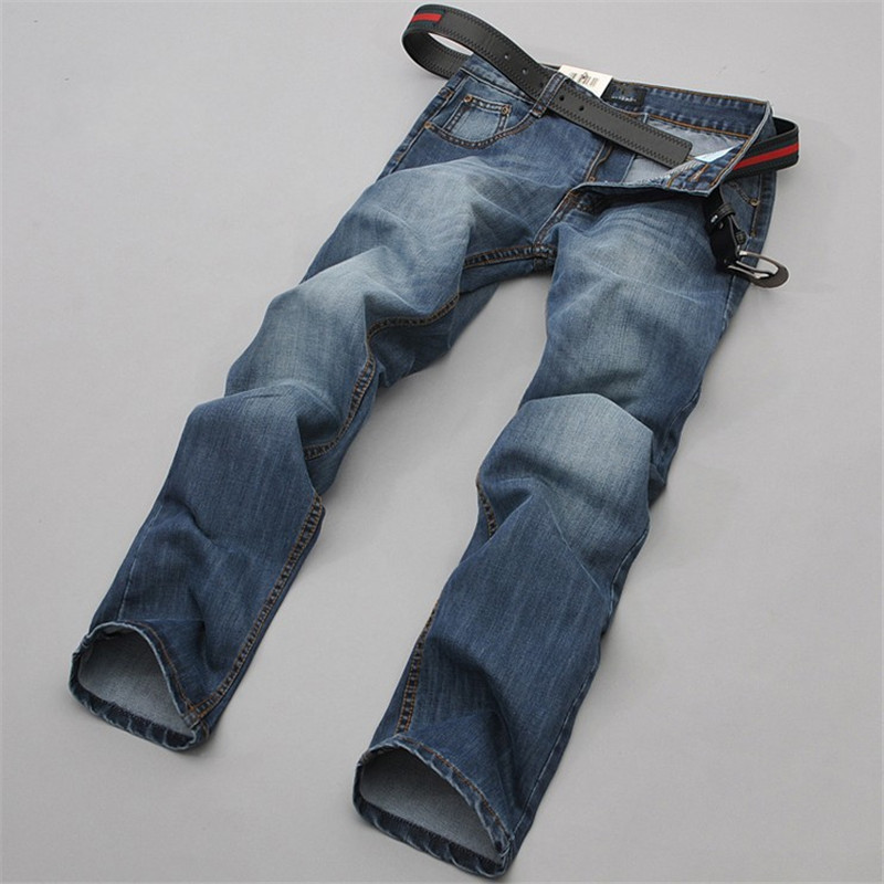 2016 New Brand Leisure Blue Mens Jeans Stylish Designed Straight Men JeansSlim Fit Trousers Casual Jeans Men PantsОдежда и ак�е��уары<br><br><br>Aliexpress