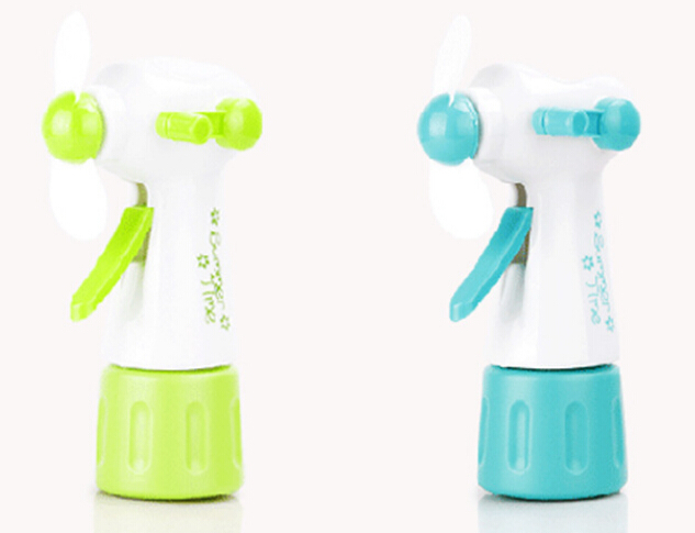 hot sale Mini Portable Handheld Cooling Water Spray Mist Fan Spray Bottle free shipping(China (Mainland))