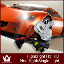 Guang Dian super bright 35W HID Xenon globe single beam xenon bulb h3 single beam xenon bulb 4300K-6000k replace bulb