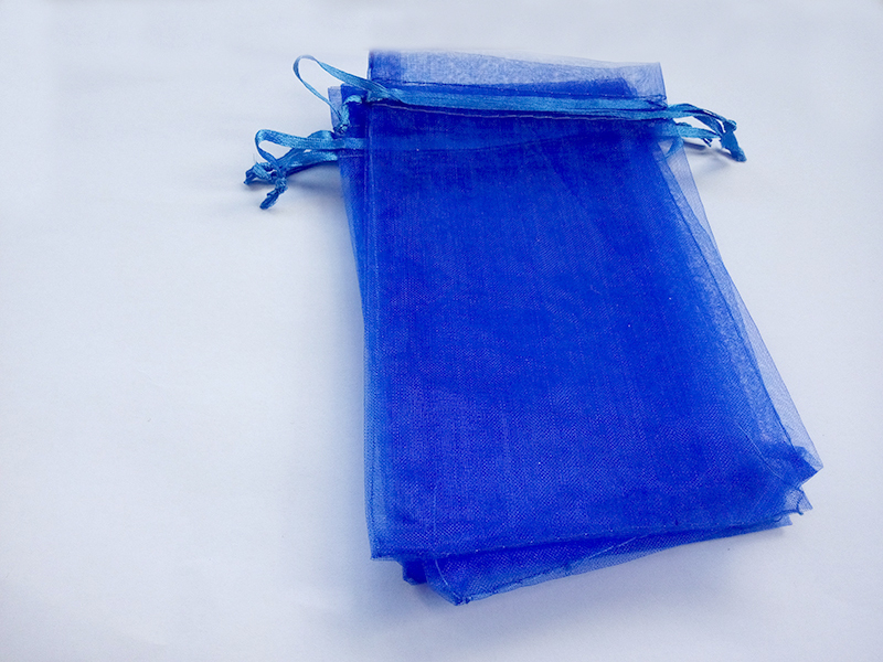 Pcs blue gift bags for jewelry wedding christmas