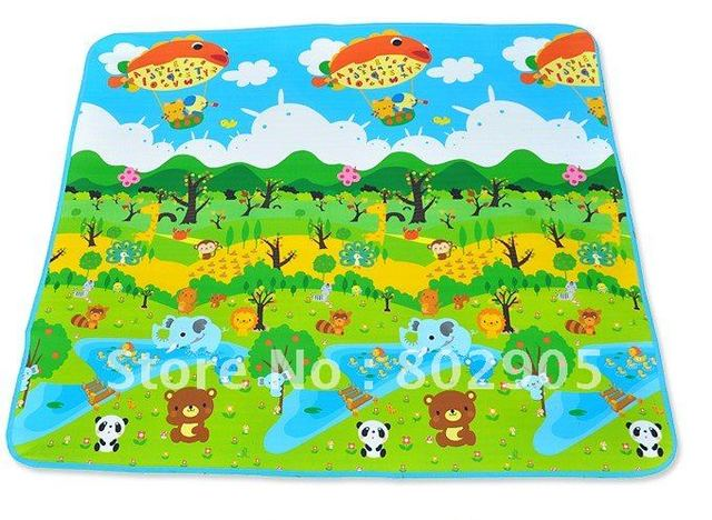 Free shipping Forest Photo Educational Game Play Mats For Baby