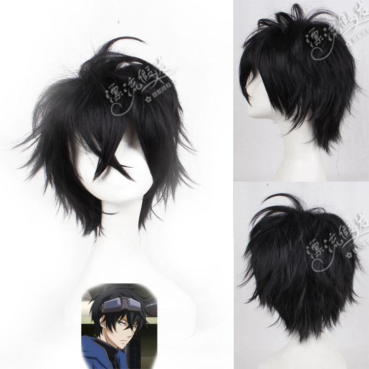 Гаджет  Drifting wig KARNEVAL carnival flower gravel black cos cartoon wig become warped None Изготовление под заказ