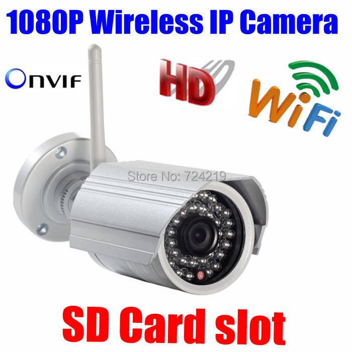 Гаджет  CYBO P2P ONVIF Wifi 2MP Megapixel Wireless IR Network IP camera 1080P HD Outdoor Video surveillance security camera SD Card slot None Безопасность и защита