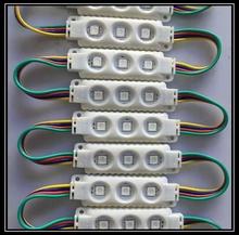 5050 RGB 3leds injection led module RGB 12V DC 0.75W RGB injection led module 1000pcs/lot DHL Free shipping 2 years warranty(China (Mainland))