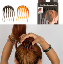 Fashion hair styling tools jewelry for wommen hair comb accessories twisted hair fluffy hair styling tools for women DIY comb