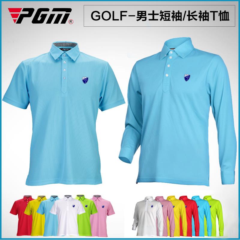 Pgm golf ball Men long-sleeve short-sleeve T-shirt golf autumn and winter clothes(China (Mainland))