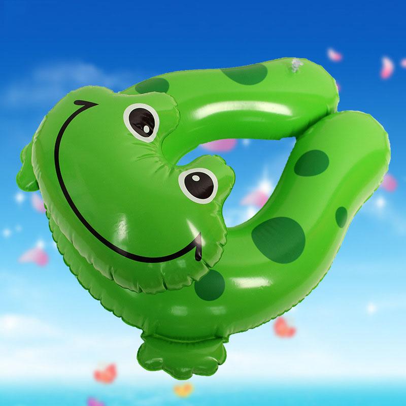Cute Green Frog Float Buoy Inflatable Water Swimming Ring Children Armpits Circle Baby Life Buoy Environmental PVC(China (Mainland))