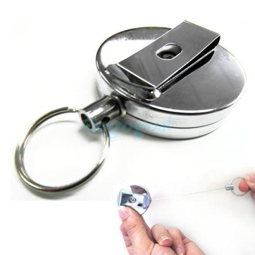 Retractable Key Ring