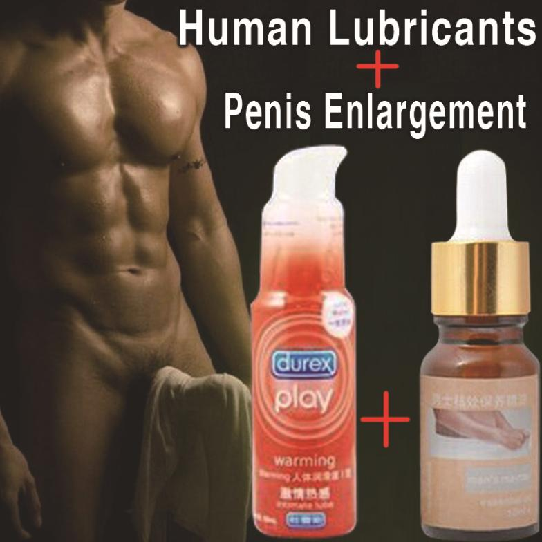 Увеличитель пениса WANGYUNXI 2 ,  Durex , Human lubricant oils + penis enlargement wet original 527 vk o