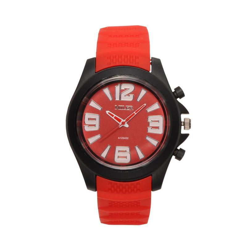 unisex silicone quartz sports watches high quality