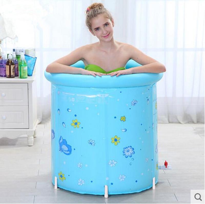 the fashion tub bath barrel support folding bath barrel(China (Mainland))