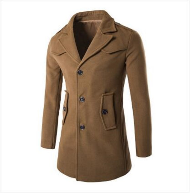Mens Long Black Coat Promotion-Shop for Promotional Mens Long